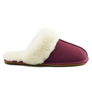 customized women comfy memory foam indoor sheepskin slippers