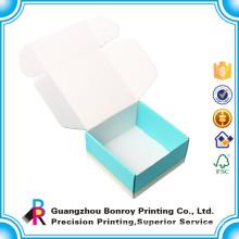 Custom Corrugated Board Stackable Plastic Baby Shoe Box