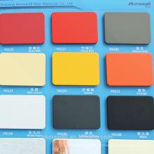 Alunewall différents types de panneau composite aluminium ignifuge b1 fabricant chinois