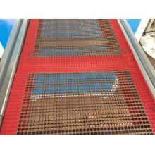 PTFE coated fabric belt