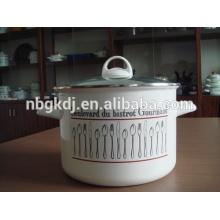 enamel big stock pot of customizing