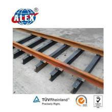 Railroad Steel Sleeper pour Uic50 / 54/60 Rails