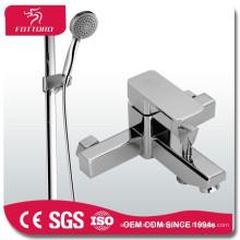 ensembles de douche de baignoire en laiton ensemble de douche en cuivre durable carré