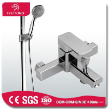 brass bath shower sets square durable copper shower set