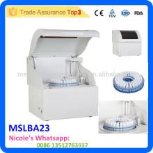 Analyseur de biochimie automatique de l'équipement de laboratoire MSLAB23-i