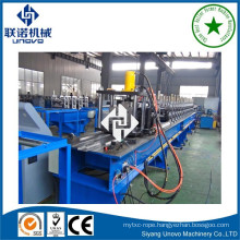 Galvanized vineyard post roll forming line