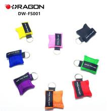 DW-FS001 Mund-zu-Mund-Erste-Hilfe-Kit Einweg-Mini CPR Lebensschlüssel / CPR-Maske Schlüssel