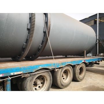 Equipo secador rotativo de biomasa