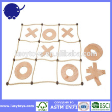 Wooden Childrens Noughts And Crosses Game