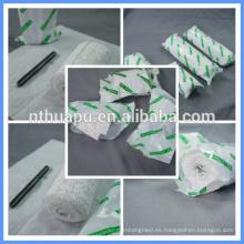 Vendaje de yeso desechable médico usado para la fractura