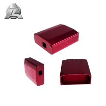 caixa de alumínio do cerco da placa de distribuição da extrusão do alumínio para o costume eletrônico