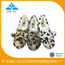 New animal style nice cotton slipper indoor slipper for lady