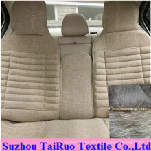 100% Polyester Linen for Car Seat Fabric