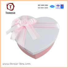 Подарочная коробка для шоколадной упаковки с сердечком