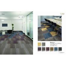 Flame Retardance Nylon Carpet Tile with PVC Backing