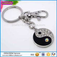 Guangzhou Factory Price High Quality Yingyang Pendant Keychain # 16044