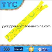 5# C/E Nylon Zipper Printed Decorative Zipper