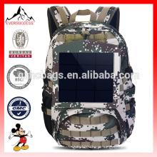 Camuflagem Mochila Solar Powered Bag 6.5W Painel Solar (ES-H032)