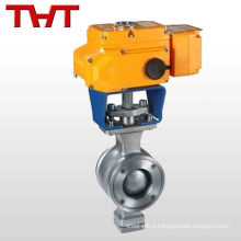 electric water control motorised ball valve import from China