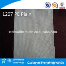 1207 paño de polietileno / dacron tejido plano del PE para el agua mineral