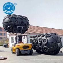 3.3x6.5m pneumatischer Gummi Fender für Schiff zu Schiff Transfer