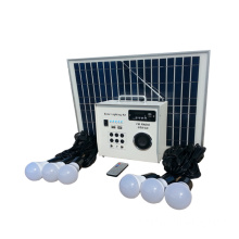 30W tragbares grün Solar Light Kit