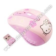 Olá Kitty 2.4G sem fio Mouse