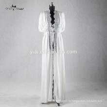 RB003 Delicate Lace Trim Sexy Kimono Robe für Frauen