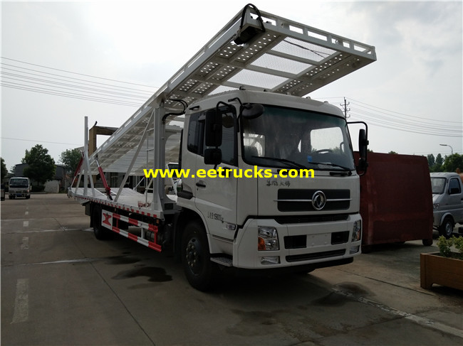 4 Cars Hydraulic Towing Trucks
