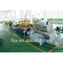 double-wall corrugated pipe extrusion line