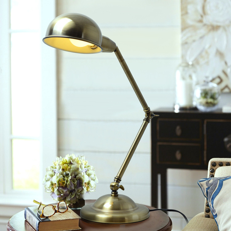 Applicantion Grey Table Lamp