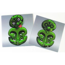 2015 Cute Green 3D PVC Fridge Magnet