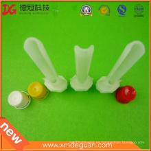 Cañón de plástico personalizado aceptable con el proveedor de tapa