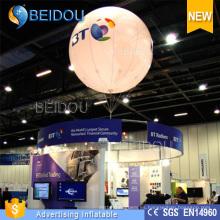 PVC Hélio RC inflables dirigibles dirigible grandes globos de publicidad LED
