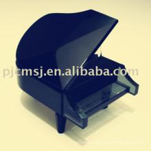 черный кристалл модель пианино /музыкальный инструмент для подарка благосклонности