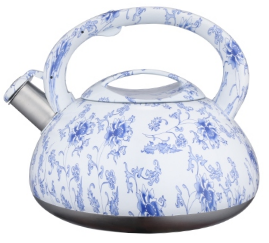 KHK057 2.5L color painting decal teakettle
