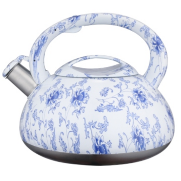 Teakettle decal lukisan warna 3,5L