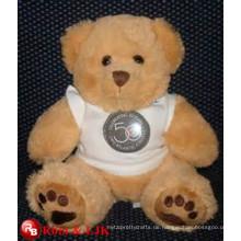 Treffen Sie EN71 und ASTM Standard ICTI Plüsch Spielzeug Fabrik Namen gefüllten Bären