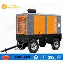Compresor de aire de doble tornillo lubricado con aceite