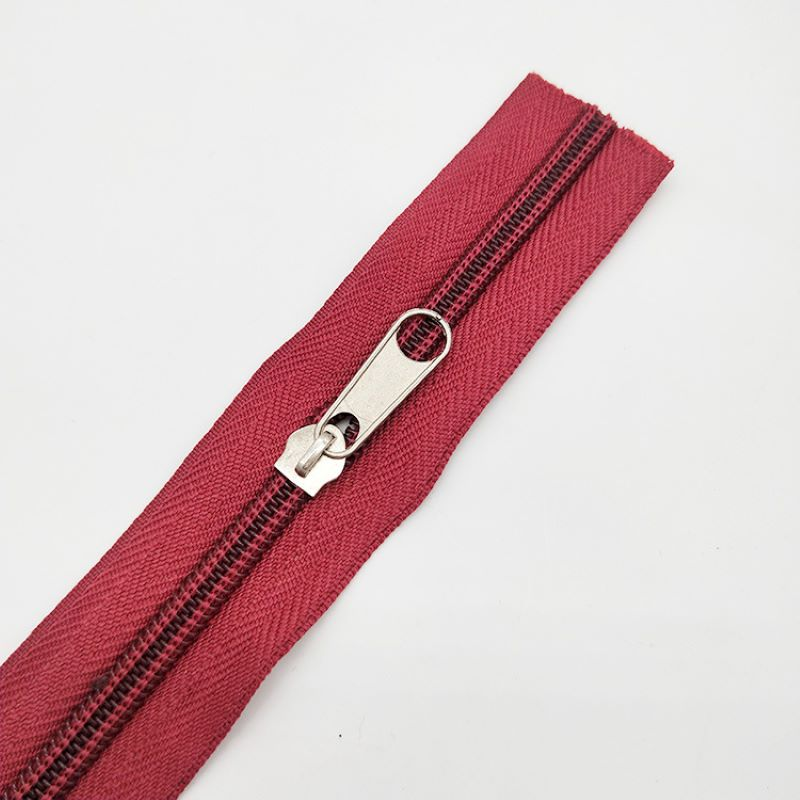 nice-looking nylon long zippers