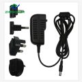 9V/1A/9W Multi AC Plug Power Adapter for Global