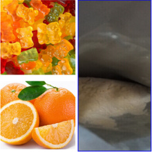 Natürliches Orangengeschmackpulver für Süßigkeiten