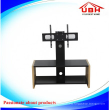 Rotating TV Mount Tempered Glass TV Stand