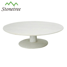 Round Flat Wedding Marble Fruit Platter