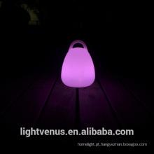 Lâmpada de lanterna material PE