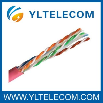 Cat.6A UTP High Speed ​​Transmission Lan Cable sin blindaje