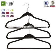 High-End Quality Manufacturer Flocking Pant Hanger