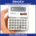 JS-12H dual power 12 digital small handheld calculator