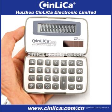 JS-12H Dual Power 12 digitale kleine Handheld-Rechner