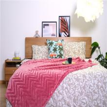 Têxteis domésticos - Fundamentos da cama interna Cobertores de malha coral